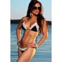 Lace Pearl BikiniModa Star Pearl Lace Bikini Black